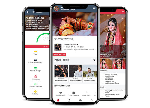 matrimonymax.com Mobile Application